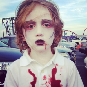 Jack at the Six Flags Zombie Apocalypse!